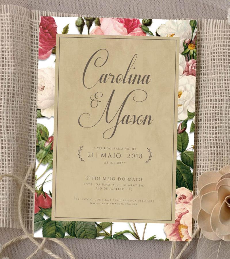 convite de casamento papel&letra 4