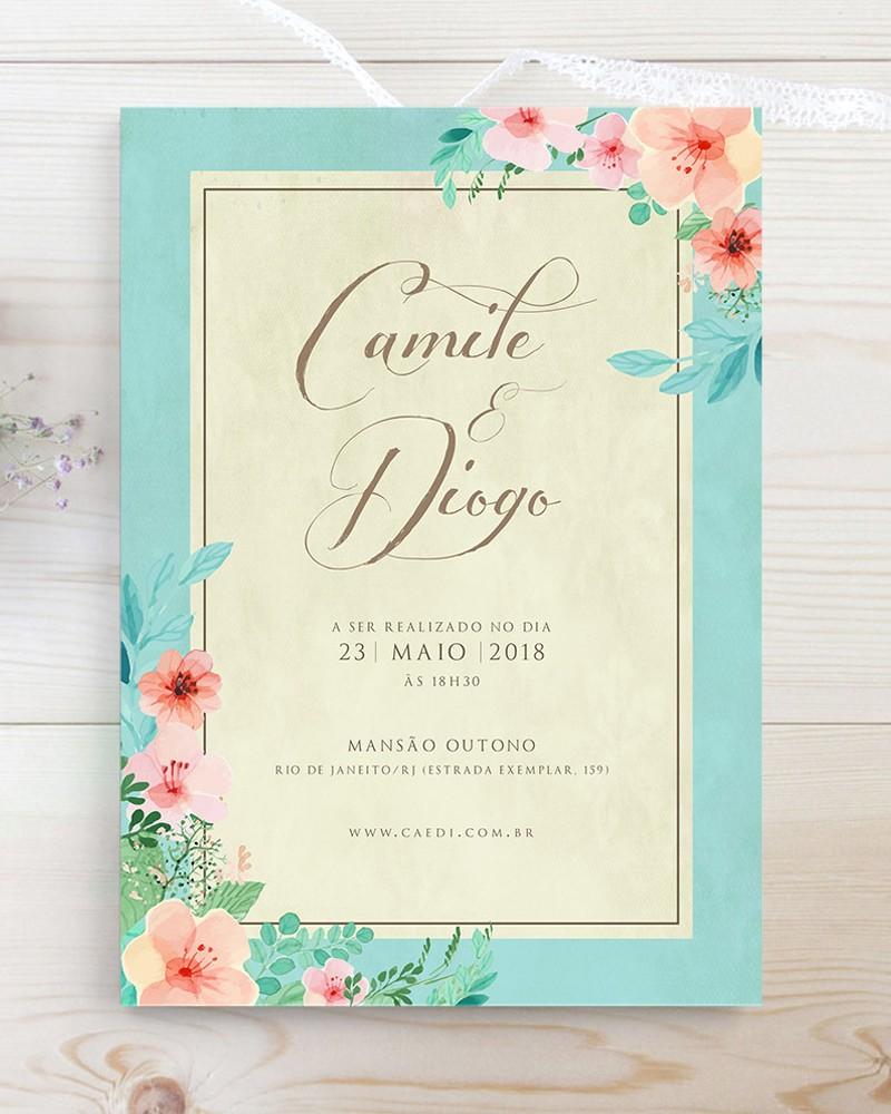 convite de casamento papel&letra 2