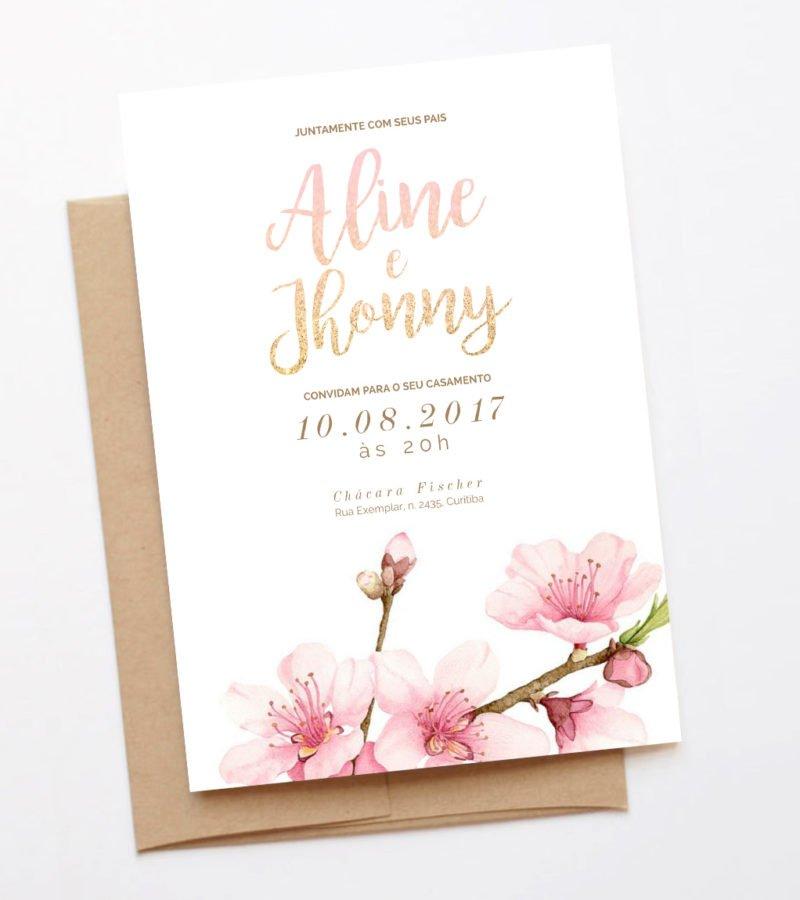 convite de casamento papeleletra 2